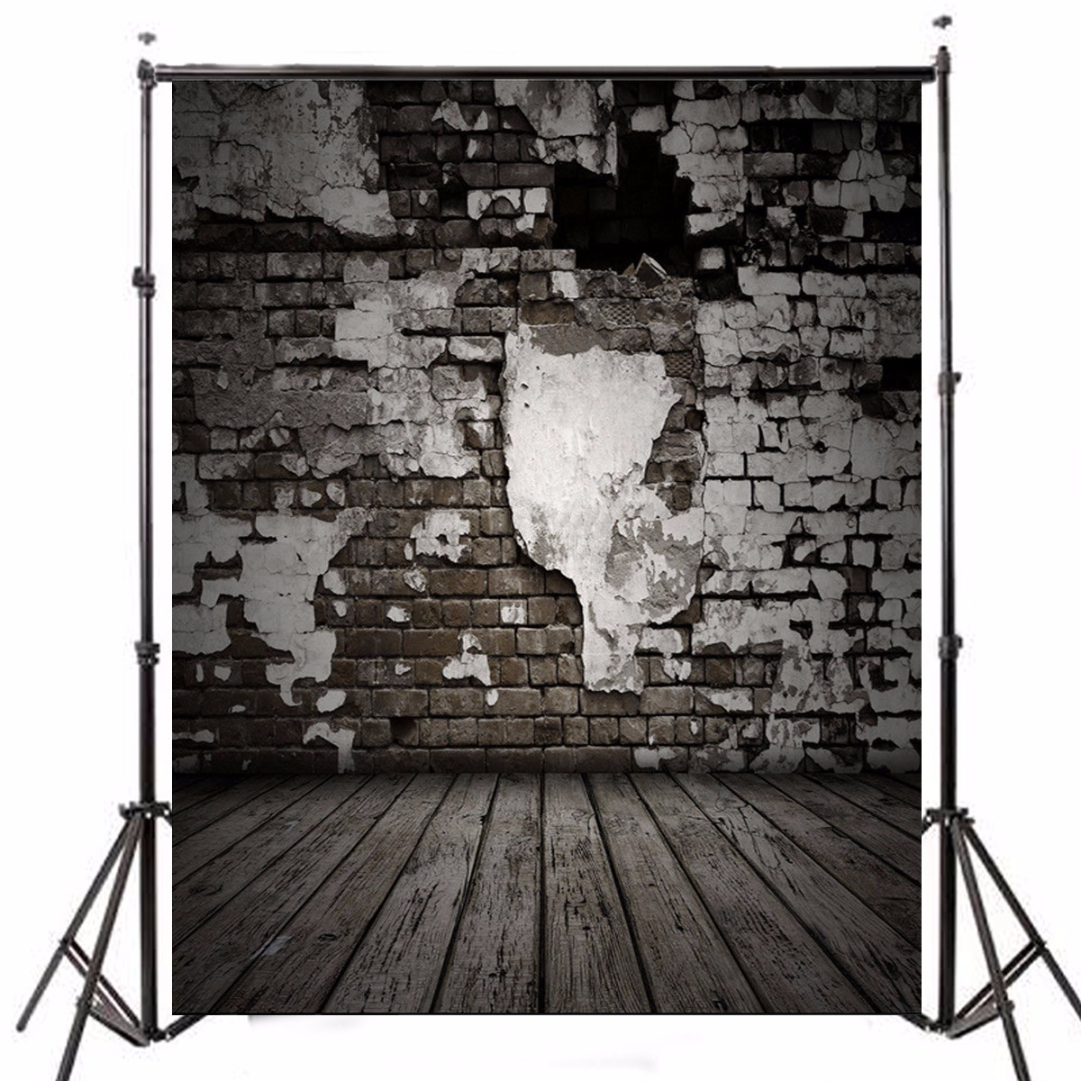 Other Gadgets 5x7ft Wooden Brick Theme Photography