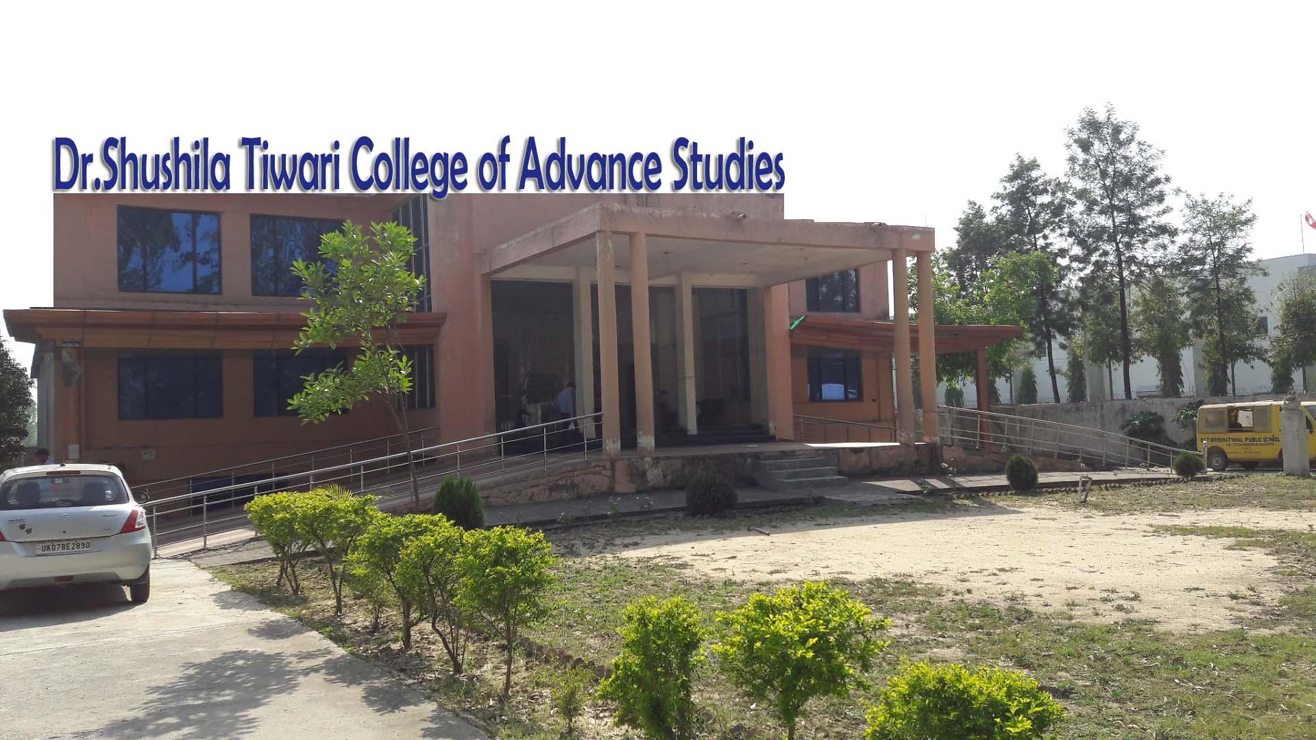 Dr. Shushila Tiwari College of Advance Studies, Roorkee