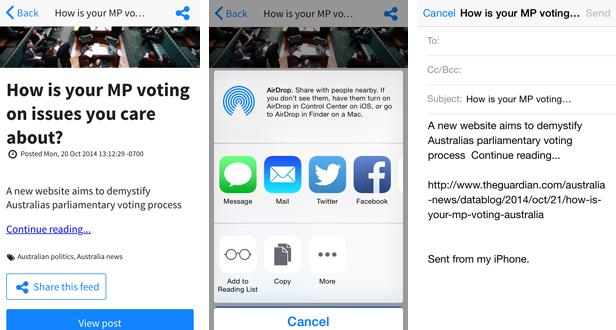 Sensation - PhoneGap / Cordova Full Hybrid App - 8