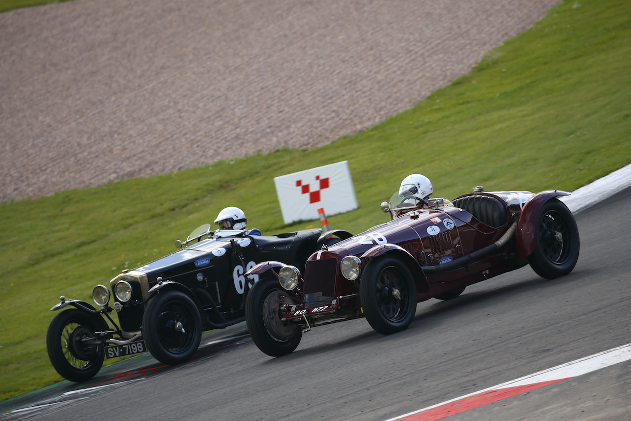 Donington Historic Festival to live stream May races