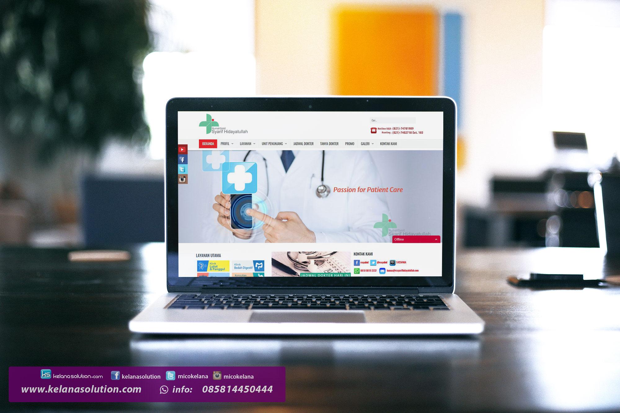 Jasa Pembuatan Website Rumah Sakit