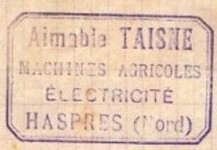 Haspres - Aimable Taisne