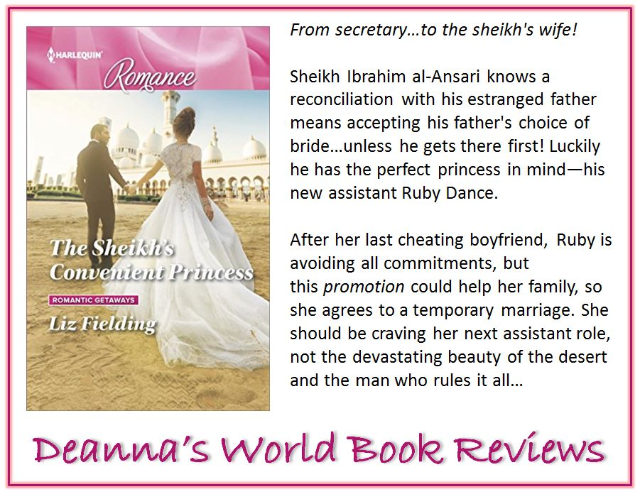 The Sheikh's Convenient Princess by Liz Fielding blurb