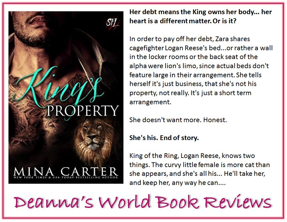 King's Property by Mina Carter blurb
