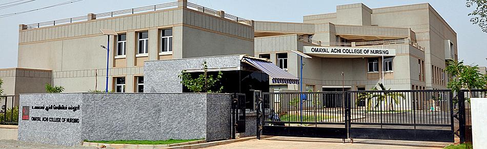 Omayal Achi College of Nursing, Chennai Image