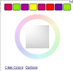 Durch Extensions können außerdem Registerkarten farbig markiert werden.