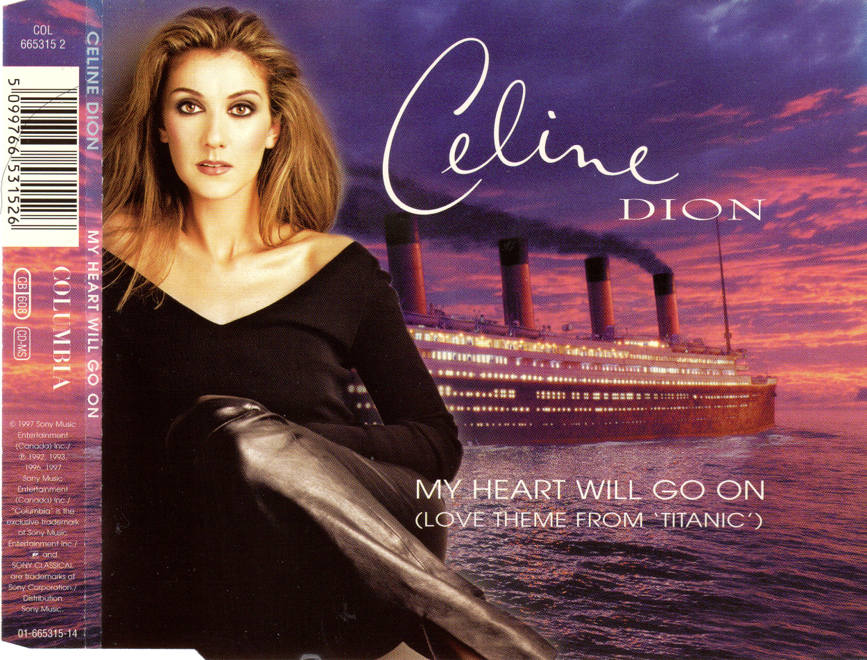 cd maxi celine dion my heart will go on ebay. Black Bedroom Furniture Sets. Home Design Ideas