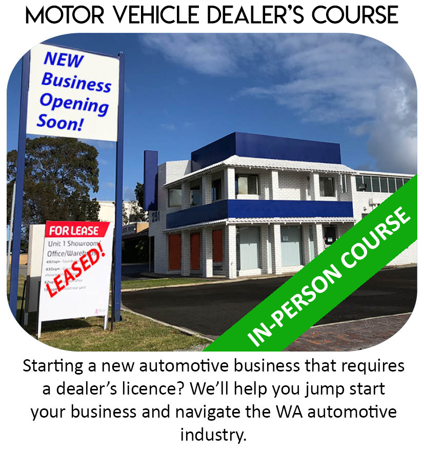 New Business Dealer Course