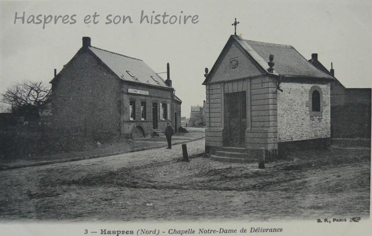 Estaminet Delfosse dans la rue d'Avesnes le Sec