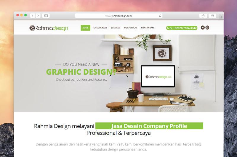RahmiaDesign - Jasa Desain Company Profile