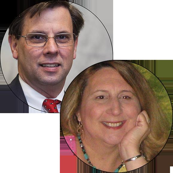 Bill Cleveland and Connie Schroeder