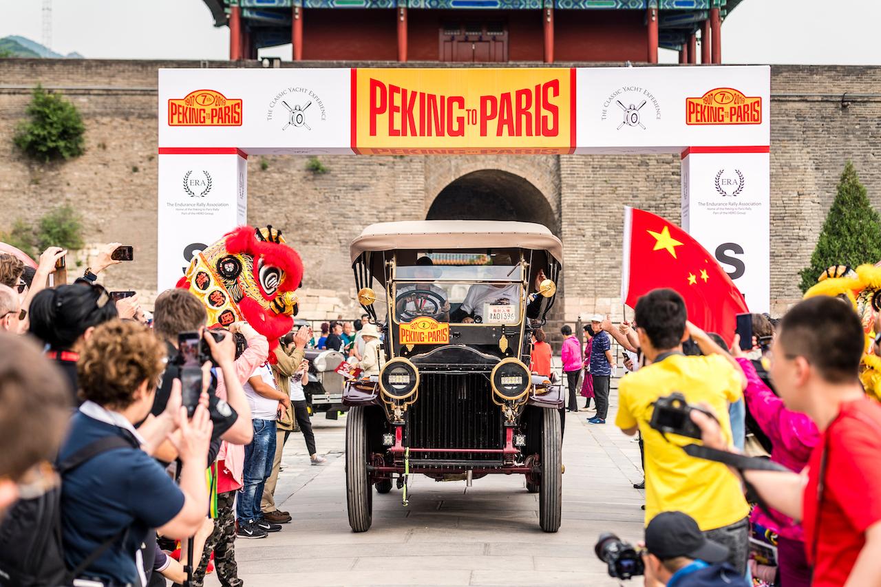 Peking to Paris Motor Challenge 2022 Launched in Paris