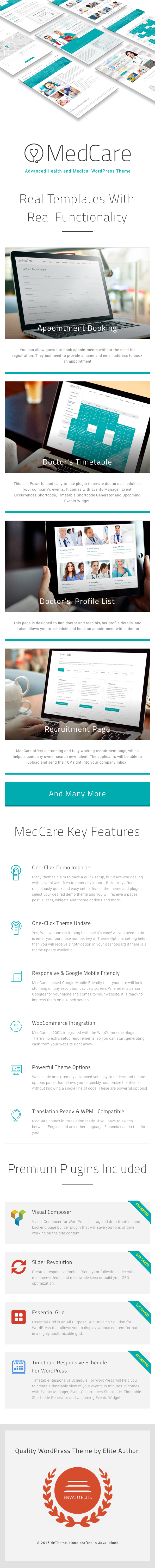 MedCare - Advanced Health & Medical WordPress Theme