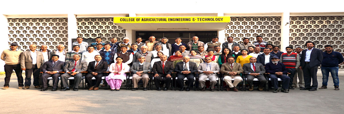 College of Agricultural Engineering and Technology, CCS Haryana Agricultural University, Hisar