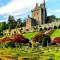 Замок Драммонд и его садово-парковый комплекс