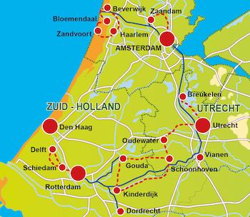 Pista Ciclabile Olanda: Tour del Sud