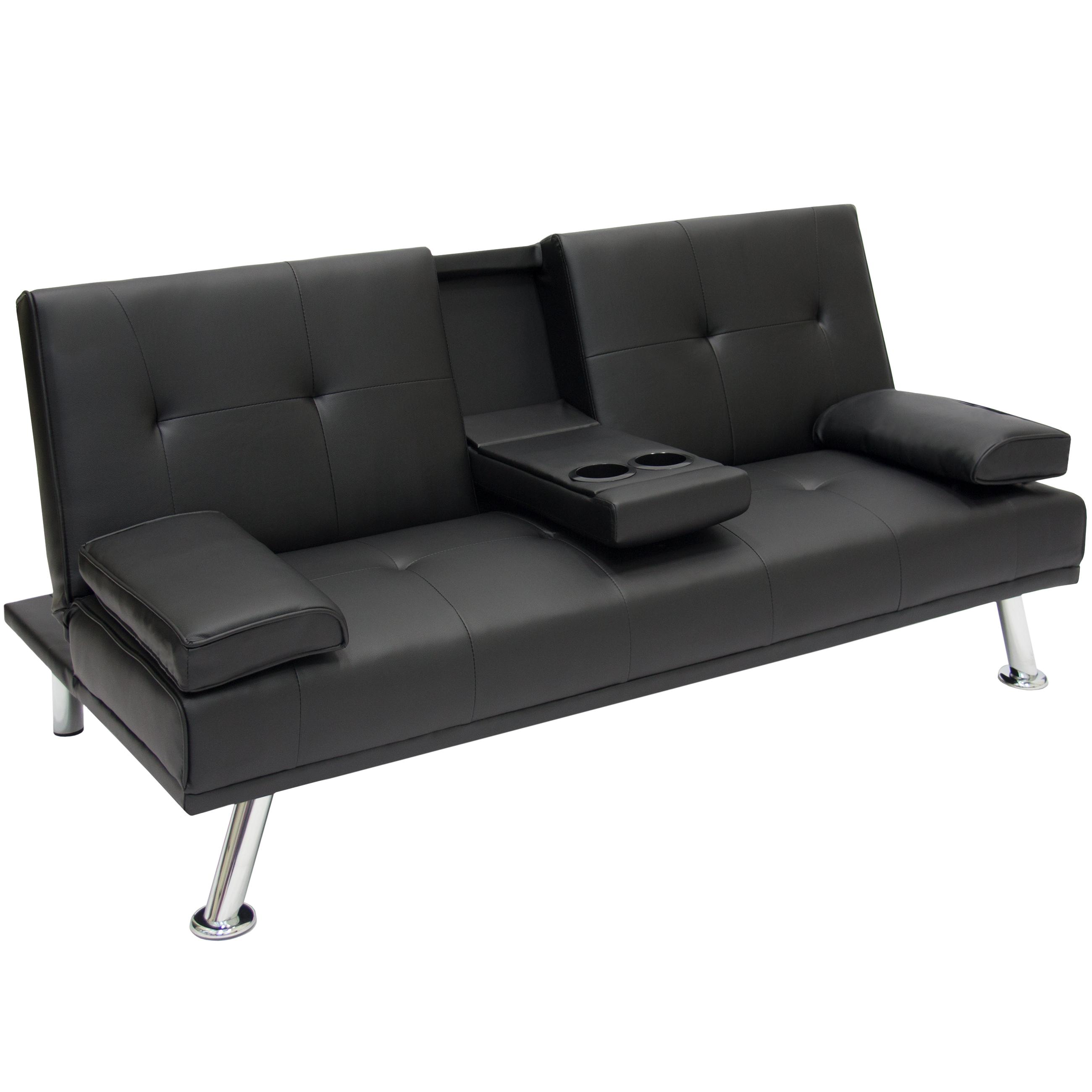 Entertainment Furniture Futon Sofa Bed Fold Up Down