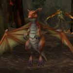 Mladý střepinový drak