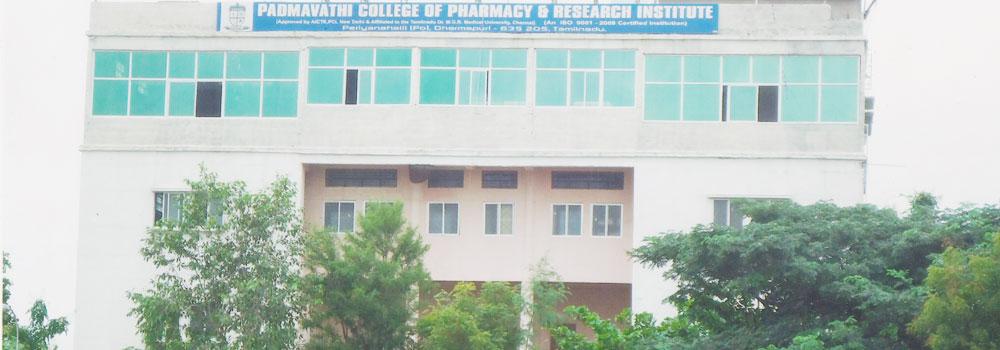 Padmavathi College of Pharmacy and Research Institute, Dharmapuri