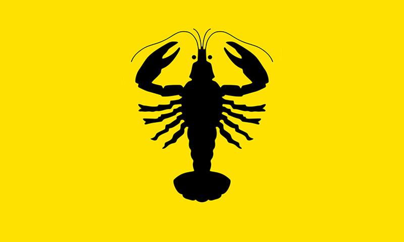 Bandera de Aurskog-Holand