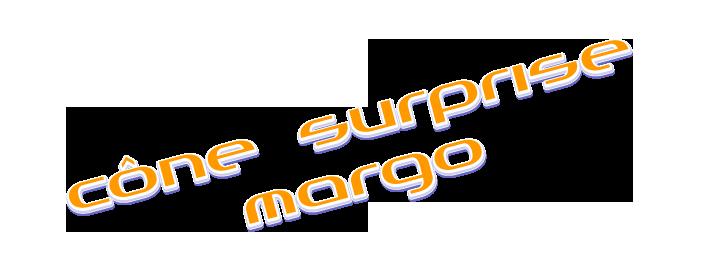 Cône surprise Margo