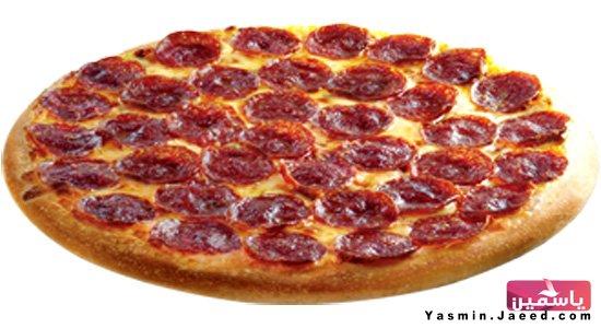 طريقة عمل بيتزا هوت دوغ بالصور