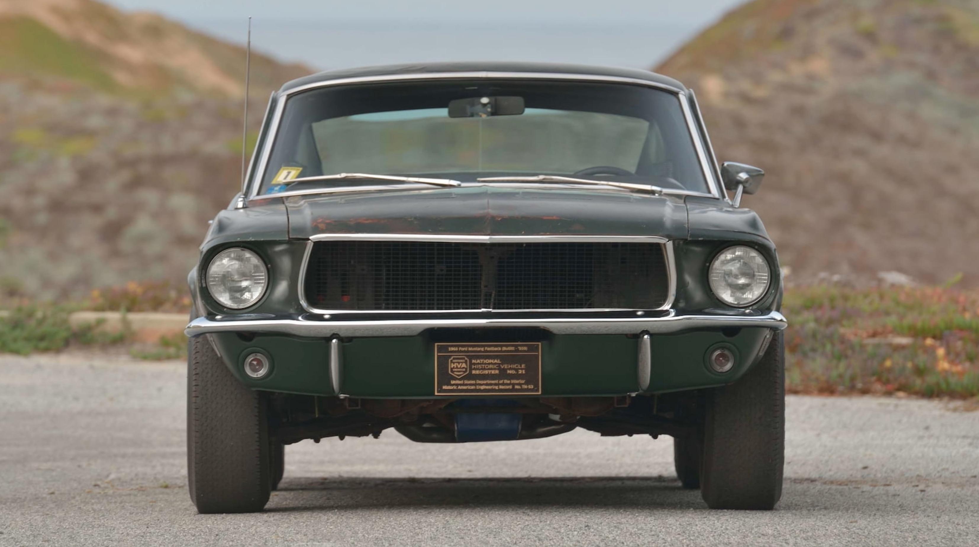 Bullitt Mustang sells for cool $3.4m