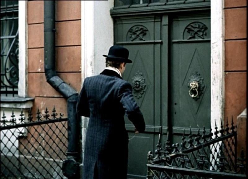 Дом Шерлока Холмса (кадр из фильма)