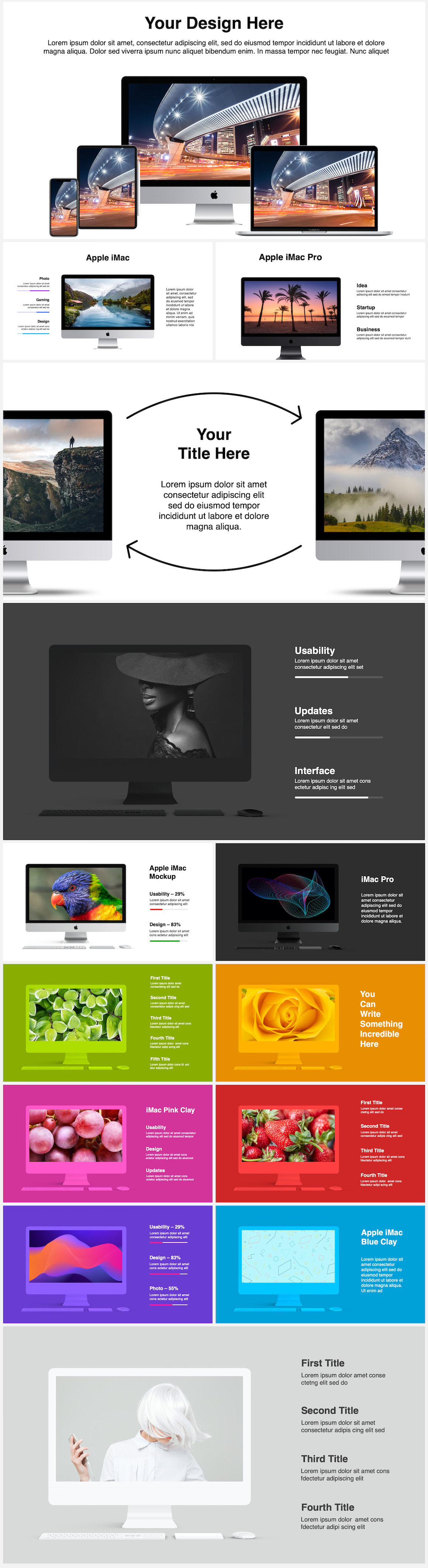 Huge Infographics Bundle! Lifetime Updates! PowerPoint, Photoshop, Illustrator. - 52
