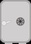 Mit einem Tresor oder verschließbaren Stahl-Schrank erschwert man einem Einbrecher den Zugriff auf den USB-Stick mit dem Sicherheitsschlüssel.
