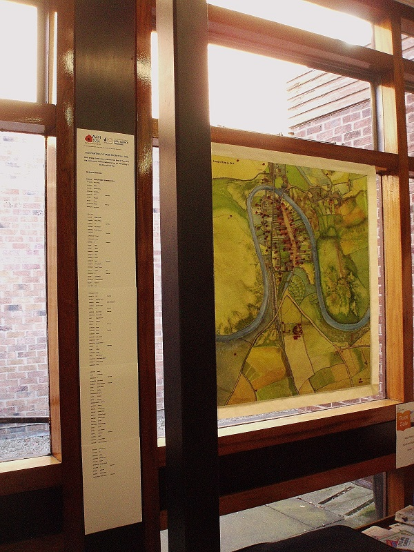Image of Yarm map painting
