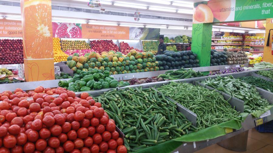 Früchte- und Gemüseladen