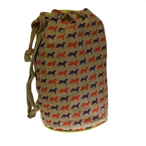 hipster duffle bag - fox