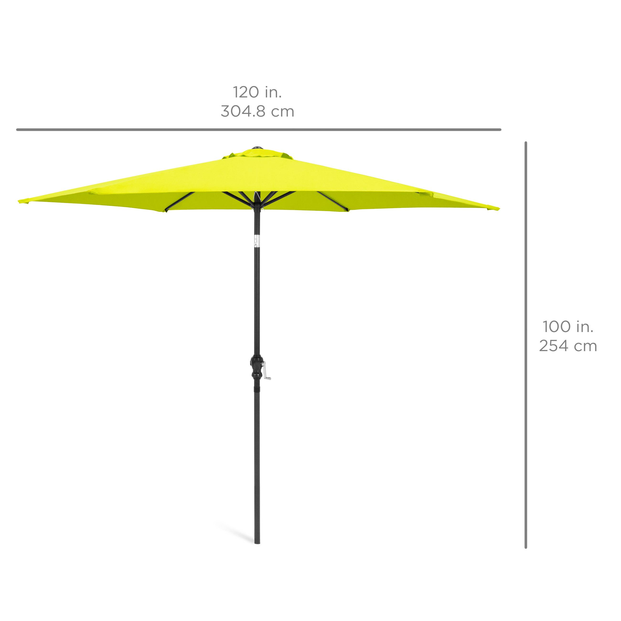 BCP-10ft-Outdoor-Steel-Market-Patio-Umbrella-Decoration-w-Tilt-Crank thumbnail 49