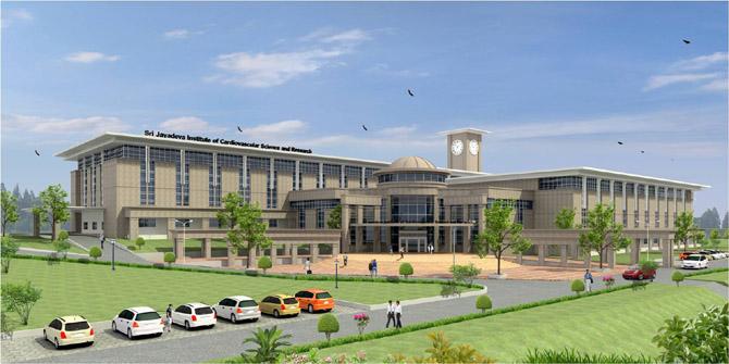 Sri Jayadeva Institute of Cardiovascular Sciences and Research, Bangalore Image