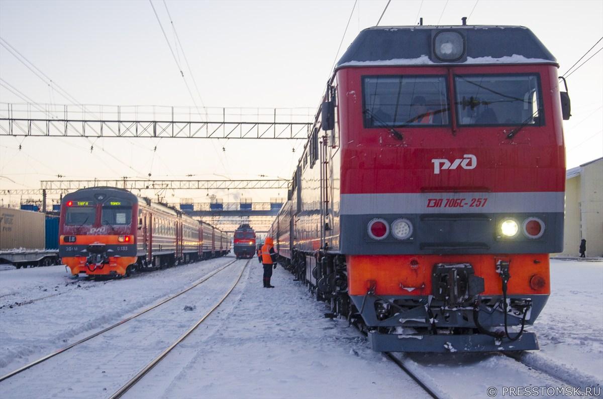 Новый «дневной экспресс» начал курсировать из Томска в Новосибирск с 11 декабря