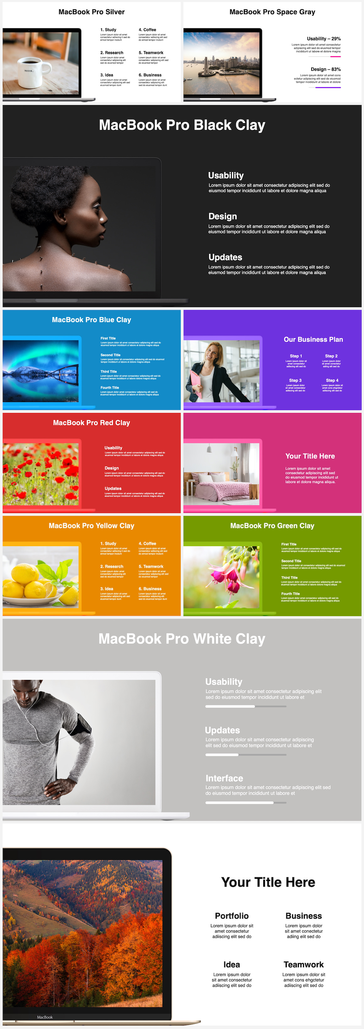 Huge Infographics Bundle! Lifetime Updates! PowerPoint, Photoshop, Illustrator. - 62