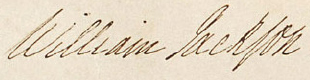 Image: Signature of William Jackson