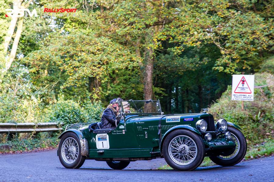 2nd Lombard Rally Bath set for October