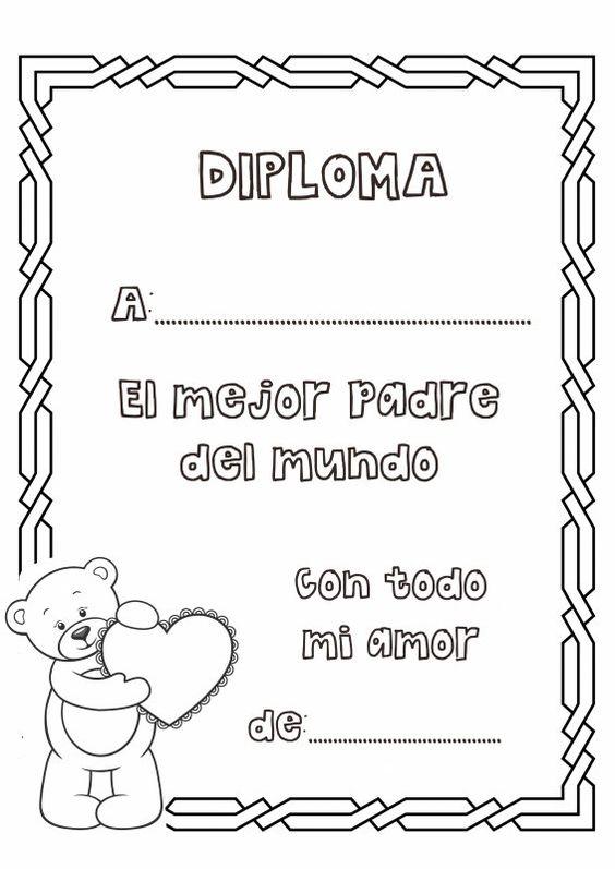 Diploma Papá