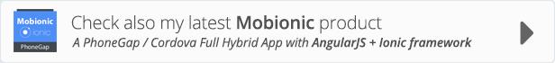 API Ionic WooCommerce - App PhoneGap / Cordova Full Hybrid - 3