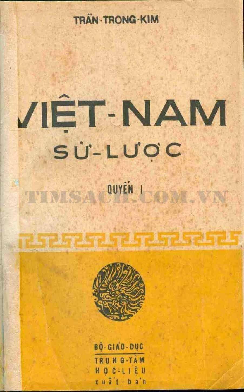 Việt Nam Sử Lược - Quyển I