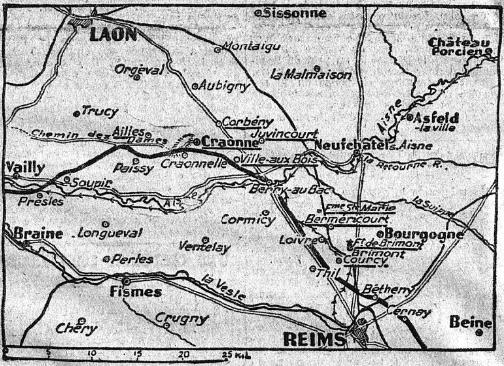 Le chemin des dames - 1917