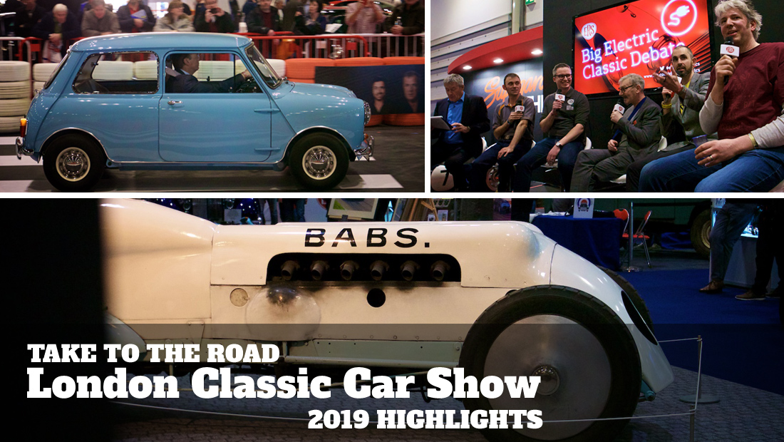 Take to the Road's Highlights of the 2019 London Classic Car Show