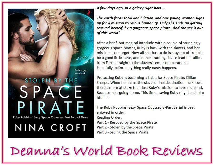 Stolen By The Space Pirate by Nina Croft blurb