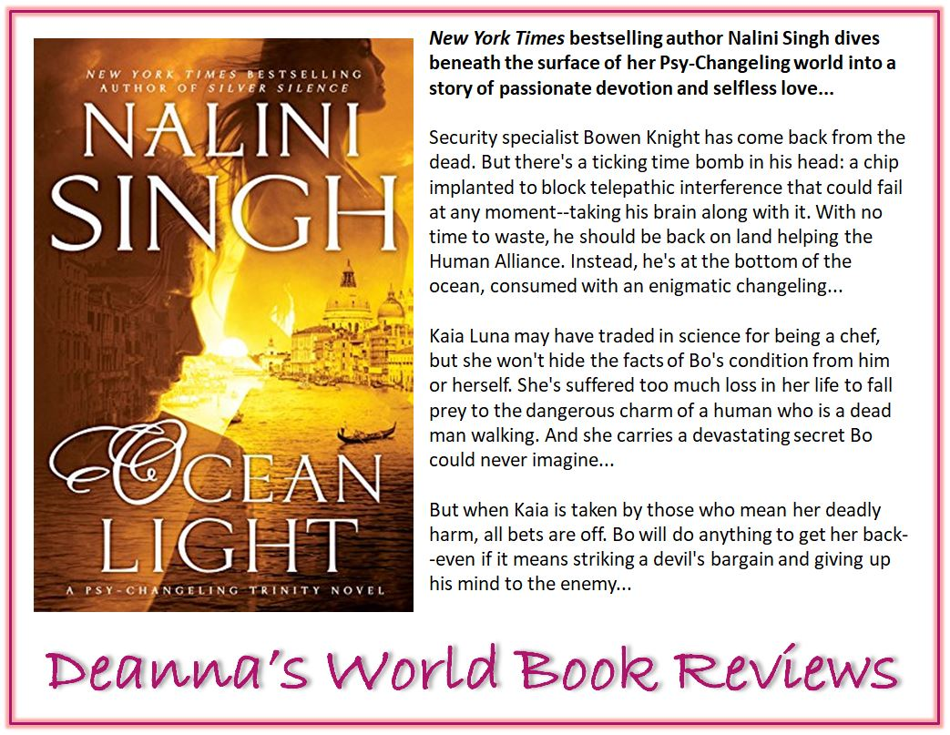 Ocean Light by Nalini Singh blurb
