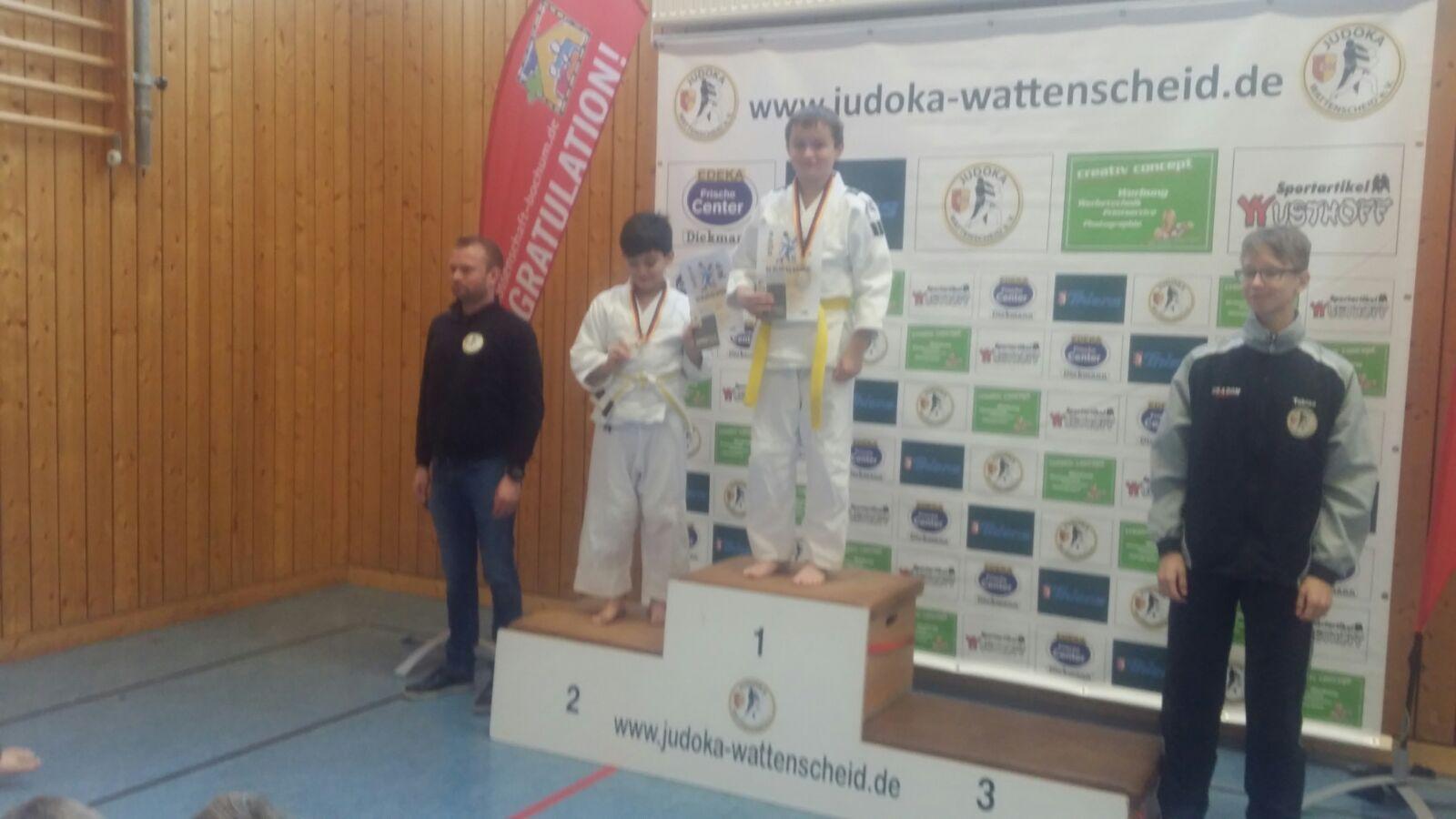 1.Platz Marcel Lippmann Klasse -46 kg