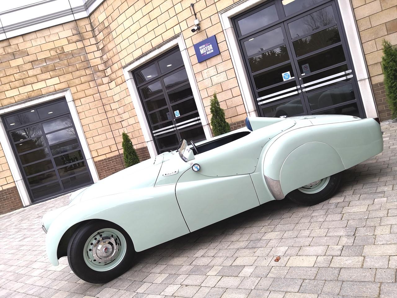 British Motor Museum saves Triumph TR2 prototype