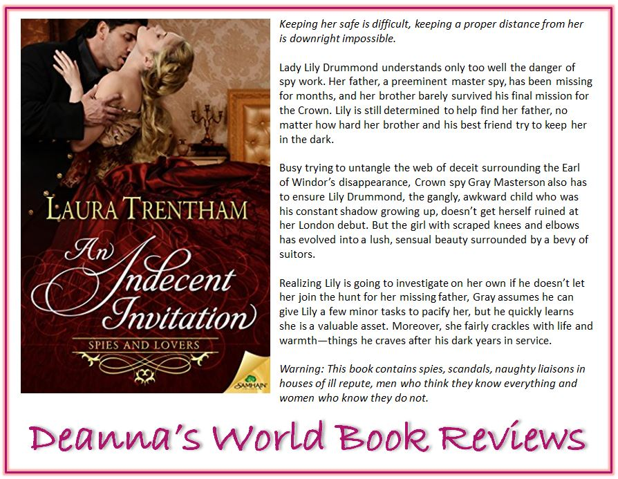 An Indecent Invitation by Laura Trentham blurb