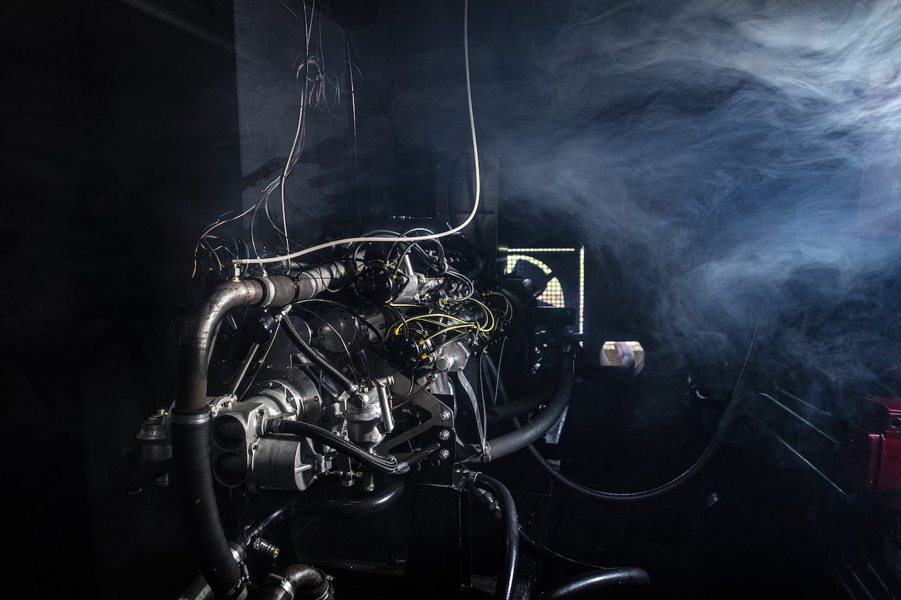 BRM hits new milestone with successful V16 engine test